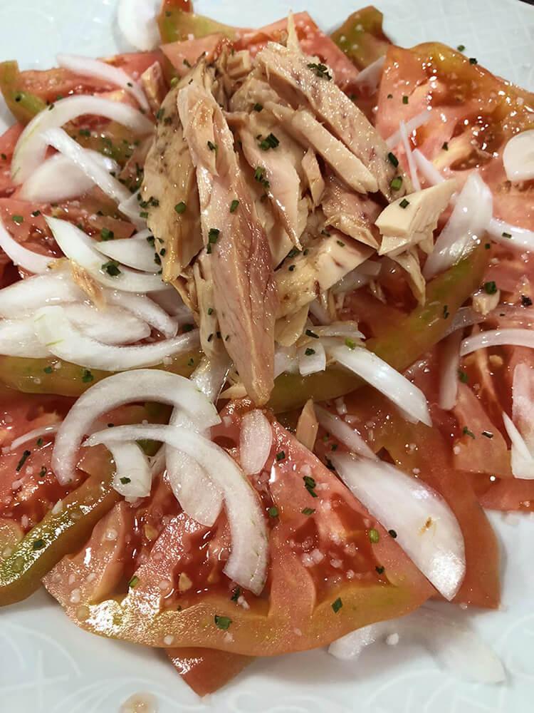 Tomates Aliñados El Pesquero Restaurante